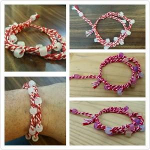 UV, red, ultraviolet, bead, crochet, bracelet, UV bracelet, Crochet bracelet, UV beads, bead bracelet