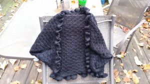 crochet shrug, shrug, crochet jacket pattern, patterns, crochet, black