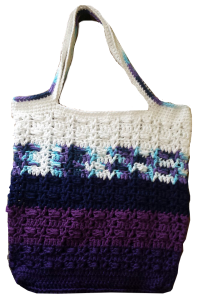 Crochet tote bag, tote bag, crochet bag, ombre, ombre bag, moogley bag, moogly bag, bag, crocheting, kids,