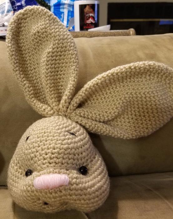 crochet bunny, amigurumi bunny, easter, crochet